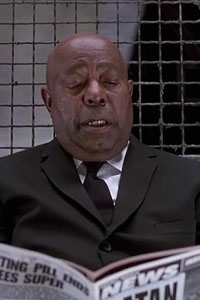 The Men in Black Guard is a member of the secret association and is portrayed by Alpheus Merchant. He is almost always seen sitting and guarding the front elevators of the MiB Headquarters. The building is located at 504 Battery Drive in New York City. Whenever Agent Jay or Kay walks by, you can see […]